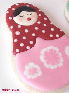 Russian Doll Cookie