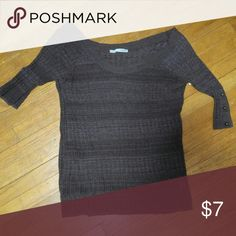 Brown sweater from Maurices Nice sweater. Brown in color. Size small Maurices Tops Tees - Short Sleeve