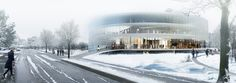 Competition Entry: OYO's Kortrijk Campus Scheme Awarded Second Prize,© OYO – Open Y Office