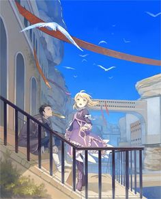 Tags: Anime, Sarai, Tales of Xillia, Alvin, Elise Lutas