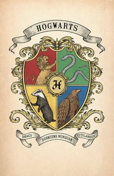Items similar to Hogwarts Crest Print on Etsy Cumpleaños Harry Potter, Harry Potter Poster, Harry Potter Halloween, Harry Potter Drawings, Harry Potter Christmas, Harry Potter Tumblr, Harry Potter Houses, Harry Potter Anime, Harry Potter Pictures
