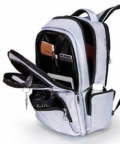 Best Laptop Backpack with Hidden Compartment Anti-thief Zipper Back To School