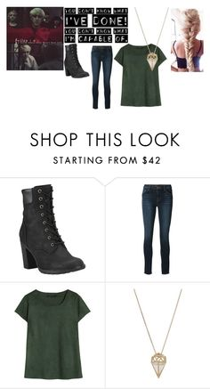 """""""well yeah, duh"""" by troylerzalfie on Polyvore featuring We The Free, Timberland, J Brand, Noor Fares, women's clothing, women's fashion, women, female, woman and misses"""