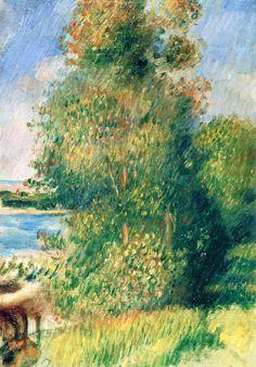 Landscape, Banks of the River Pierre Auguste Renoir - circa 1880