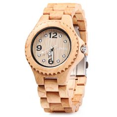 BEWELL 2016 Men Women Sandalwood Quartz Watch Luxury Elegant Wood Watches Waterproof Analog Wristwatch relogio