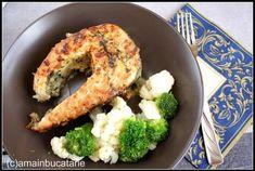 Peste la cuptor in sos de usturoi si vin – Ama Nicolae Broccoli, Cauliflower, Chicken, Vegetables, Food, Cauliflowers, Essen, Vegetable Recipes, Meals