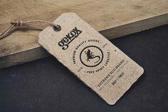 Gekox paper label.