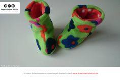 """Süße Babyschuhe aus meinem Buch """"Babyschühchen nähen"""": http://www.kreativlaborberlin.de/mein-buch-babyschuehchen-naehen/"""