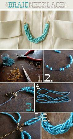 #KatieSheaDesign ♡❤ ❥ Necklace ideas #Crafts