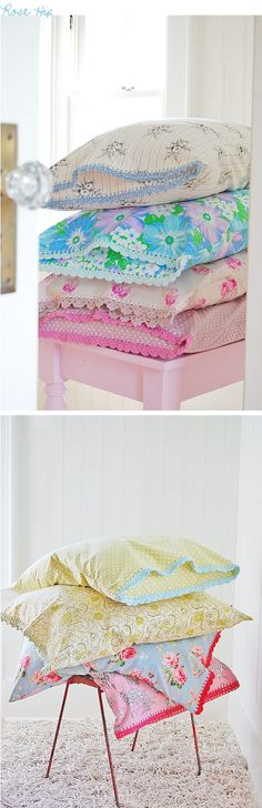 Rosehip Pillowcases | decor8