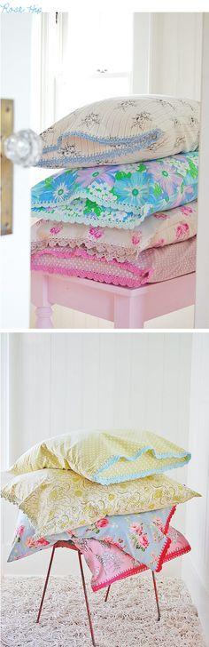 Rosehip Pillowcases | decor8