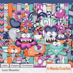 Love Monster Kit