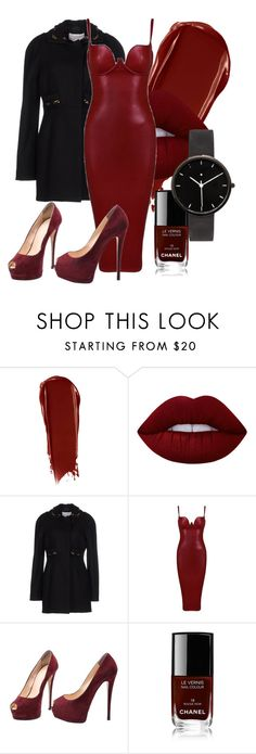 Melt for Me by skyevassallo on Polyvore featuring Posh Girl, Chloé, Giuseppe Zanotti, I Love Ugly, NARS Cosmetics, Lime Crime and Chanel