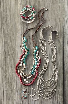 Love the look of these necklaces!!