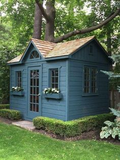 Amazing she-shed idea