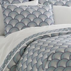 Art Deco bed linen