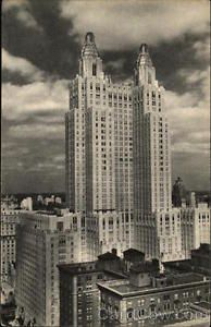 1942 New York NY Waldorf Astoria Hotel East and West Publishing Co Inc Linen P | eBay