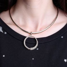 the twisted circle pendant has been a very popular design because of its look of dazzling crystal brilliance! combined with its simple, sleek appeal, show off elegance and femininity of women .