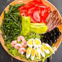 La salade niçoise - Le pamplemousse picoté
