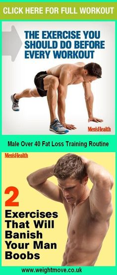 Male Over 40 Fat Loss Training Routine #Exercise #Workout #WeightLifting