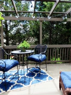 In the Treetops - Back Porch Musings Deck