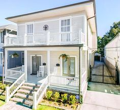 Enjoy the beauty and magic of New Orleans from your porch or balcony.