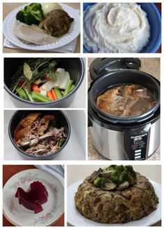 Use your pressure cooker to make preparing Thanksgiving dinner faster and easier this year with this roundup of pressure cooker Thanksgiving recipes.
