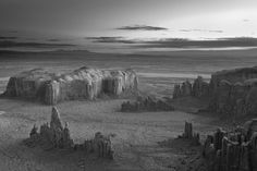 © Mitch Dobrowner, Sunrise over Spires, Arizona 2015