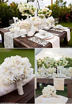 Thank you William and Kate for bringing back white and greenery as a neutral wedding color...
