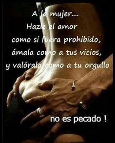 No es pecado es amor.