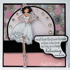 Paper Perfect Designs by Kim O'Connell: Stamping Bella Uptown Girl Faith the Fairy