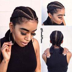 Trendy Cornrows for Short Natural Hair 2 Cornrow Braids, Twist Braids, Natural Hair Braids, Braids For Short Hair, Natural Dreads, Long Braids, Flat Twist Hairstyles, Braided Hairstyles, Dreadlock Hairstyles