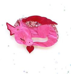 Diego the Dragon in Pink - 50 Made Nerdy Valentines, Reindeer, Brooches, Goodies, Fashion Jewelry, Dragon, Gems, Pretty, Arrow