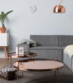 Table Basse cuivrée Cupidon - L
