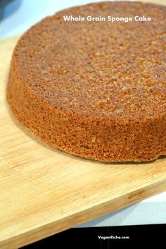 Vegan Sponge Cake Re