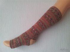 Yoga Socken hand gestrickt, gestreift, tanzen, Pilates, deutsche Qualitätswolle von LiMariann auf Etsy
