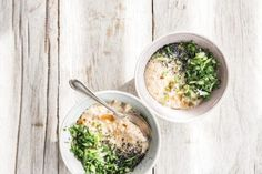 The secret to making a gut-healthy savory oatmeal for breakfast
