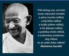 Hét dolog Gandhitól