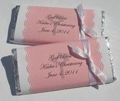 Pink Candy Wrappers