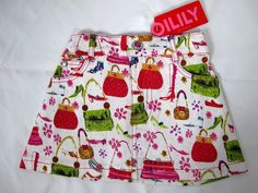 Oilily Size 2T 92 Skirt Boutique Purses Handbags Shoes Crystal Button Unique NWT #Oilily #Everydaykids#girls#boutique#clothes#summer#fashion#trendy#deal#sale