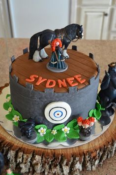 "Disney's ""Brave"" Merida Girl Themed Birthday Party Planning Ideas"