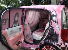 Itasha show at World Cosplay Summit lets cars get in on the anime costume fun –