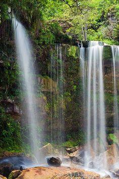 Popokvil falls in Bokor National Park   Kampot Province, Cambodia by bokehcambodia, via Flickr