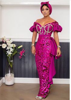 African Wear Dresses, African Inspired Fashion, Latest African Fashion Dresses, African Print Fashion, African Attire, African Clothes, Naija, Lace Dress Styles, Nigerian Lace Styles Dress