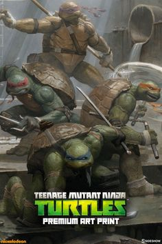 Class Up Your Sewer Walls With a 'Teenage Mutant Ninja Turtles' Print