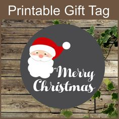 letters to santa chalkboard printable tags gift tags 9243