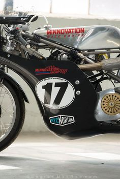 Seeley G50 racer from NYC Norton Cafe Racer