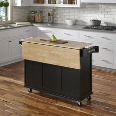 Discover the top-rated farmhouse style kitchen island carts and farmhouse bar carts on wheels. We have a huge selection whether you need a kitchen island on wheels for your farmhouse kitchen or a farmhouse rolling bar cart with a tray on top. Drop Leaf Kitchen Island, Rolling Kitchen Island, Kitchen Island Table, Kitchen Island With Seating, Small Portable Kitchen Island, Small Kitchen Cart, Kitchen Carts On Wheels, Kitchen Dining, Kitchen Island With Wheels