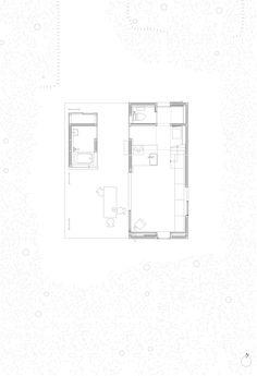 Residência em Hakuba,Planta - Térreo