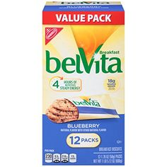 Belvita Breakfast Biscuits Blueberry 2112 Ounce >>> Visit the image link more details. (Note:Amazon affiliate link)